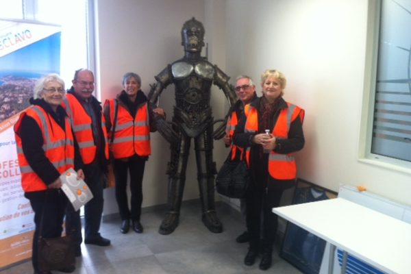 2016 - Visite à l'Ecopôle - Groupe Sclavo - Fréjus