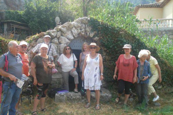 2019 - 30 juin -Groupe - Sortie Source de Sainte-Thècle - 01