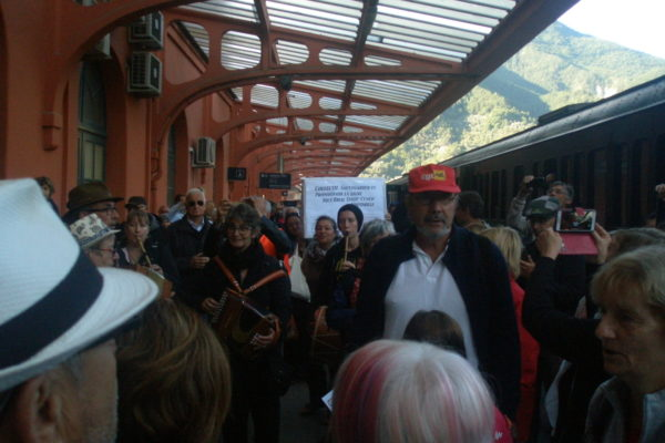 6oct2019, BREIL/Roya - train italien