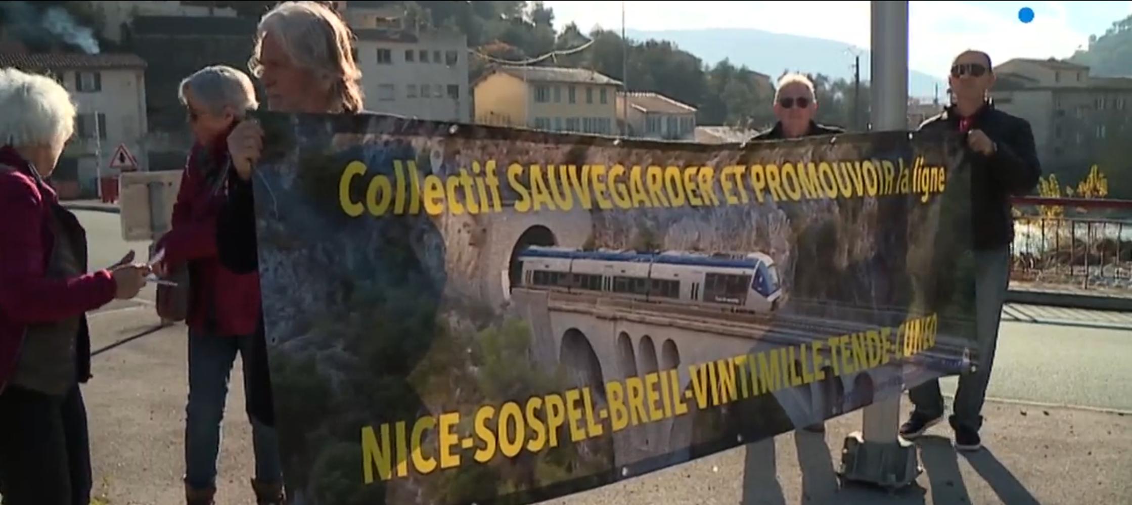 Chaîne Humaine de Nice à Cuneo