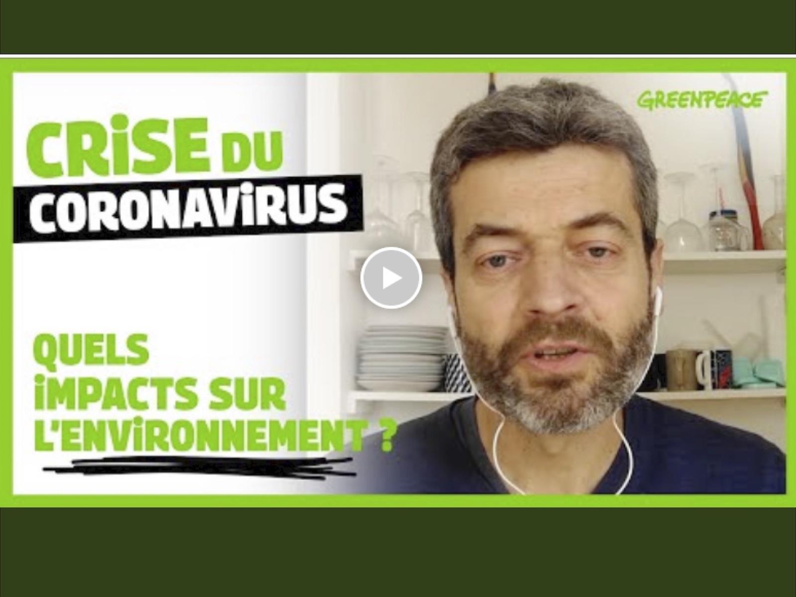 Crise du coronavirus : quels impacts sur l'environnement ?