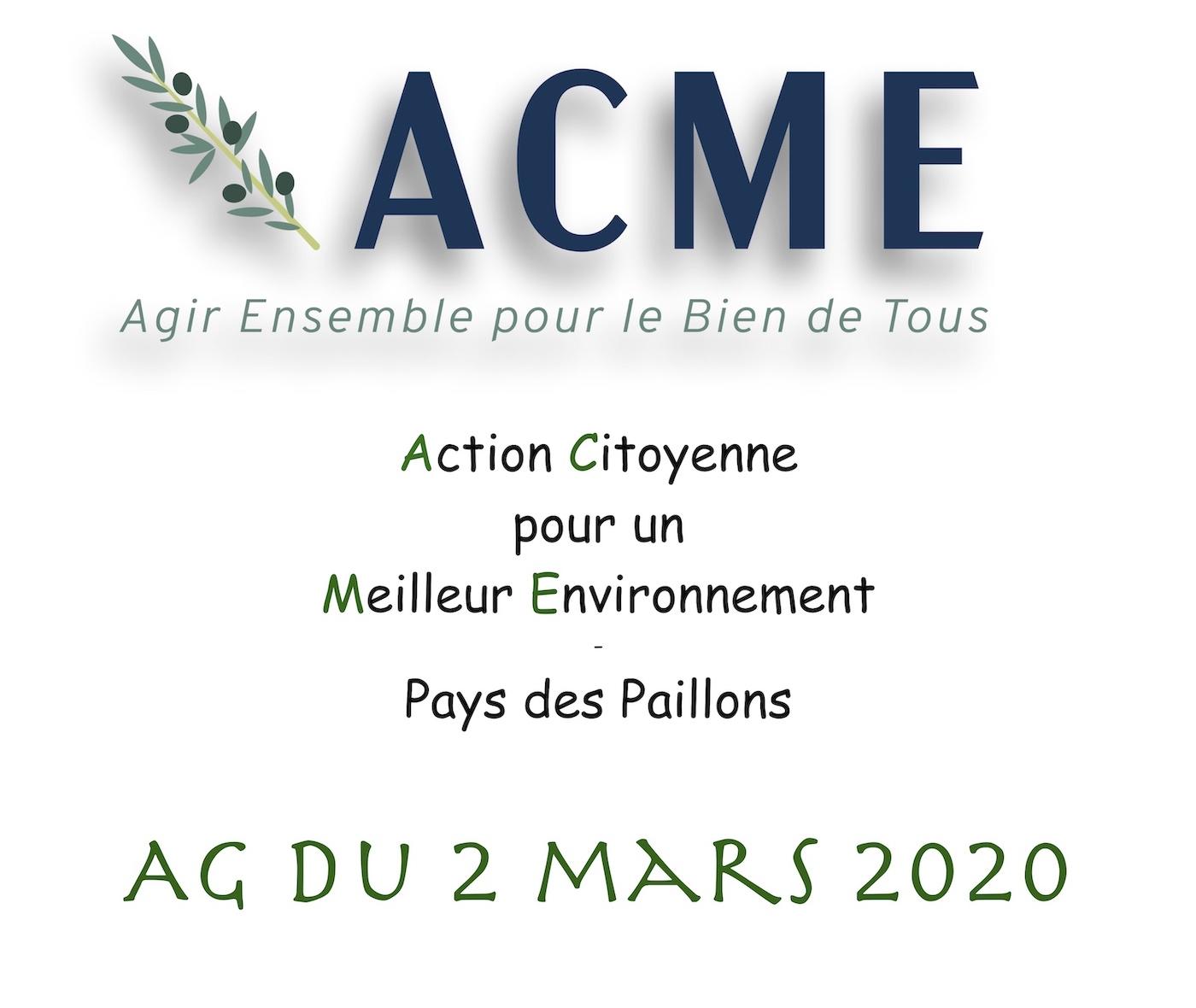 Compte-rendu de l'AG 2020