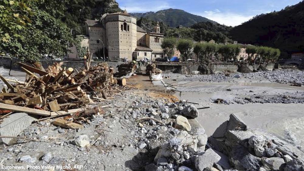 tempête ALEX, solidarité vallée de la roya